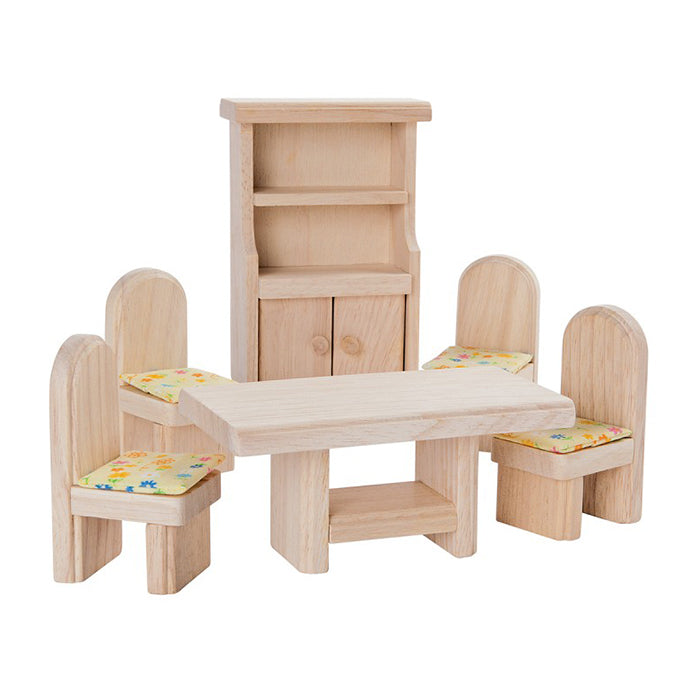 Plan Toys Classic Doll House Furniture Dining Room
