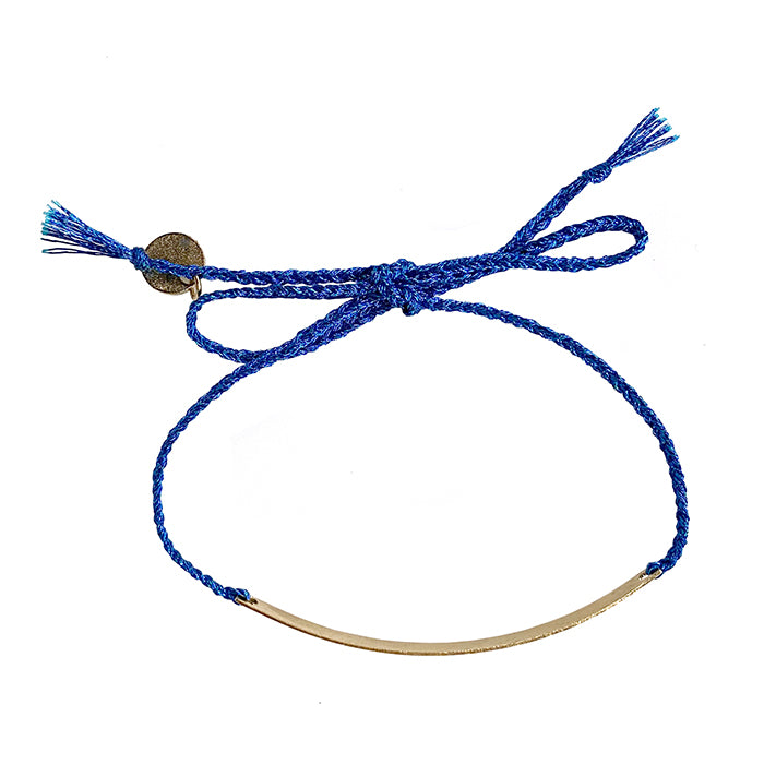 Polder Woman Peggy Bracelet With Indigo Tie