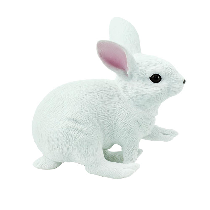 Safari White Bunny - Advice from a Caterpillar
