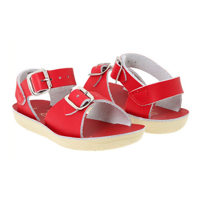 Salt Water Child Surfer Sandals Red