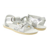 Salt Water Child Sweetheart Sandals Silver