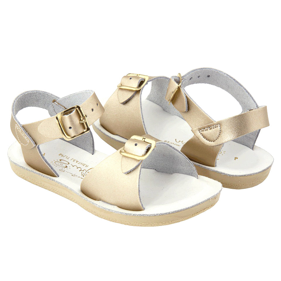 Salt Water Child Surfer Sandals Gold