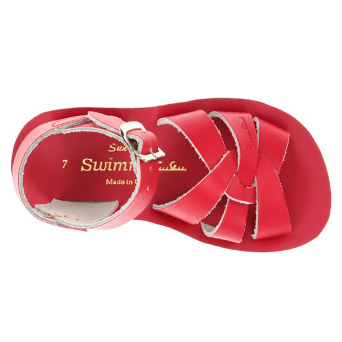 Salt Water Child Swimmer Sandals Red
