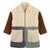 Stella McCartney Child Teddy Coat Multicoloured Patchwork