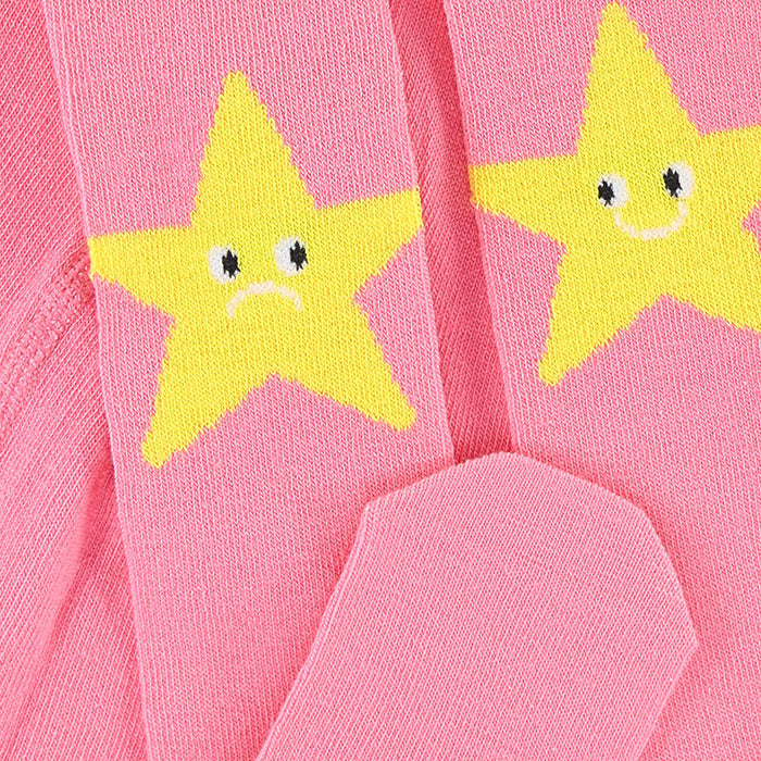 Stella McCartney Baby Tights With Star Pattern Pink