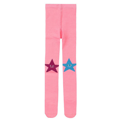 Stella McCartney Child Tights With Star Pattern Pink