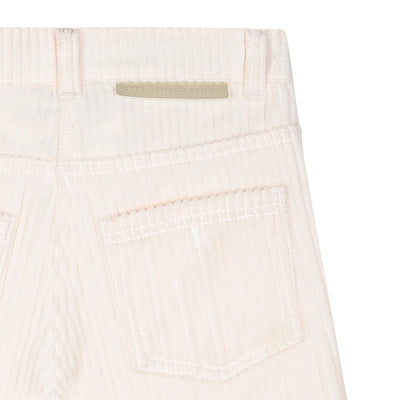 Stella McCartney Child Jumbo Cord Pants Cream