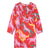 Stella McCartney Child Dress With All Over Horses Print Red