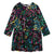 Stella McCartney Child Dress With Fireworks Print Black