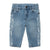 Stella McCartney Baby Jeans With Music Notes Print Blue