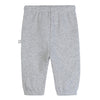 Stella McCartney Baby Sweatpants With Leopard Knee Patches Grey