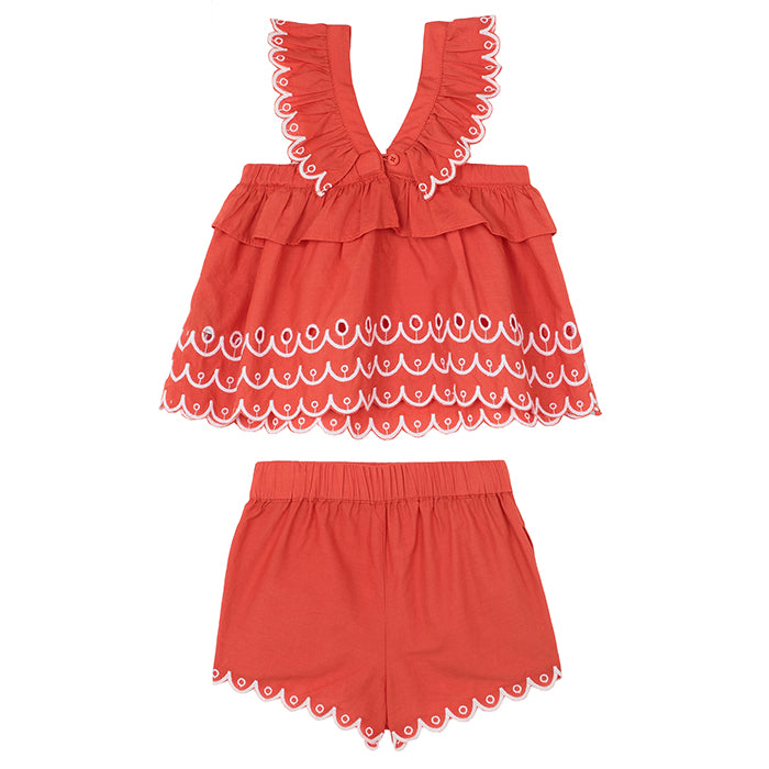 Stella McCartney Baby Two Piece Outfit Red