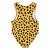 Stella McCartney Baby Swimsuit With Cheetah Face Print Red