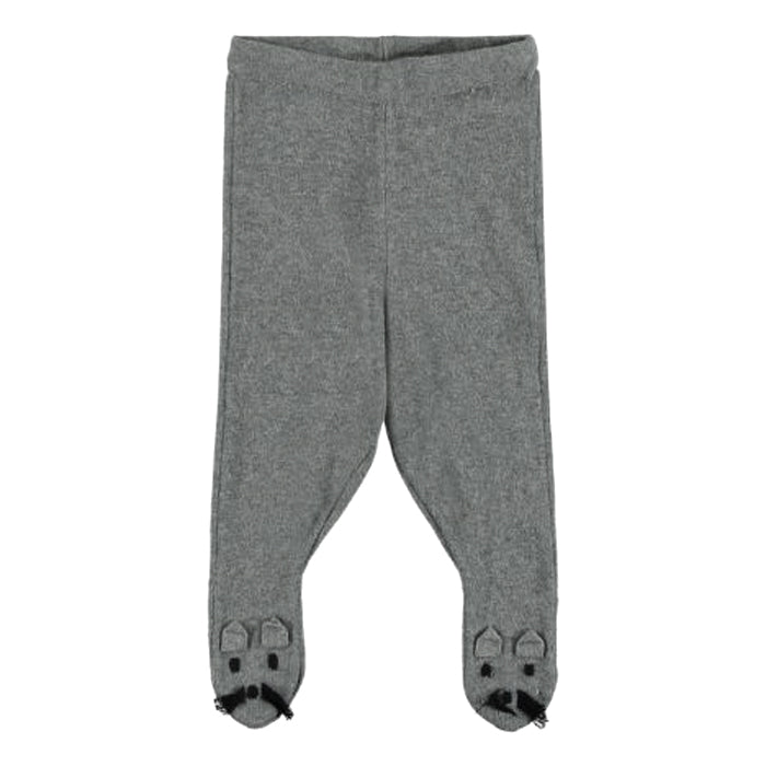 Stella McCartney Baby Snowflake Pants With Feet Mouse Grey