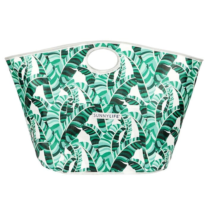 Sunnylife Carryall Beach Bag Banana Palm Print