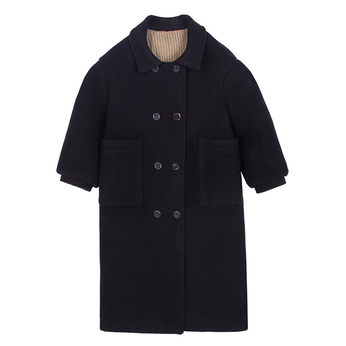 Tambere Child Laax Double Breasted Jacket Navy Blue