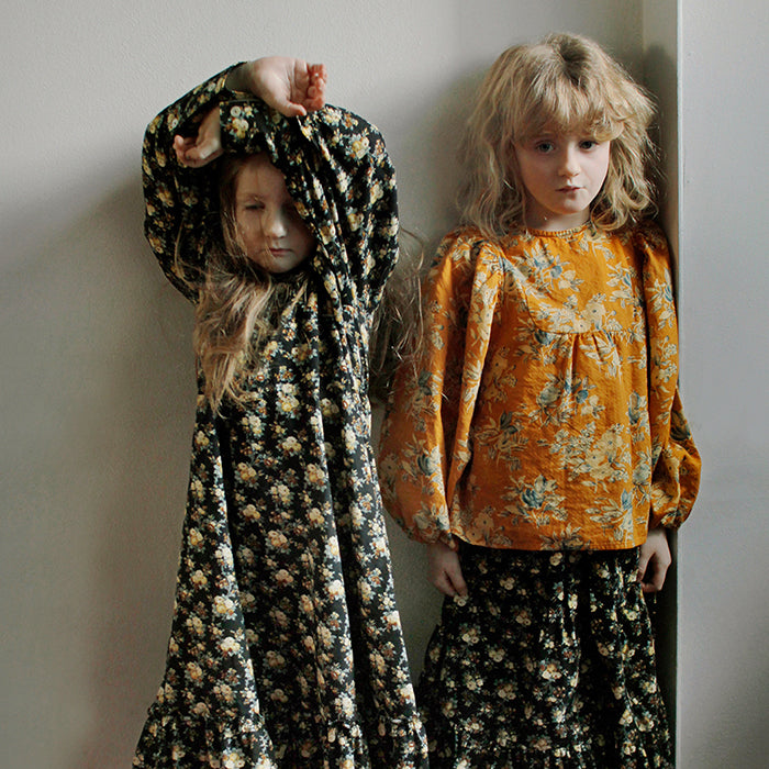 Tambere Child Lausanne Floral Blouse