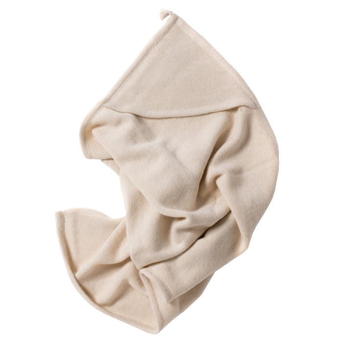 Tane Organics Blanket With Hood Soft White