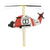 Vilac Rubber Band Powered Helicopter Red