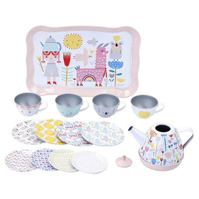 Vilac Musical Tin Tea Set