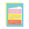 Waste Not Paper Co. Birthday Cake Card