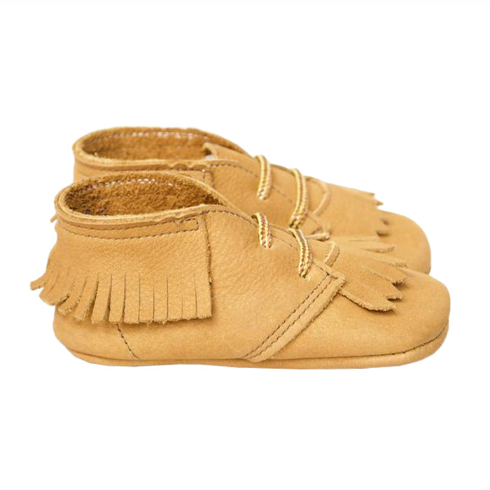 Zimmerman Shoes Baby Fringe Desert Crib Boots