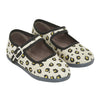 Bonton Child Jane Shoes With Beige Leopard Print