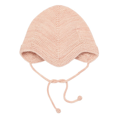 Misha & Puff Baby Acorn Bonnet Faded Rose Pink