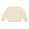 Misha & Puff Baby And Child Summer Popcorn Sweater String Cream