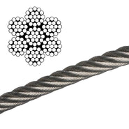 Galvanized Wire Rope - Steel Core
