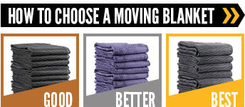 how to choose a moving blanket