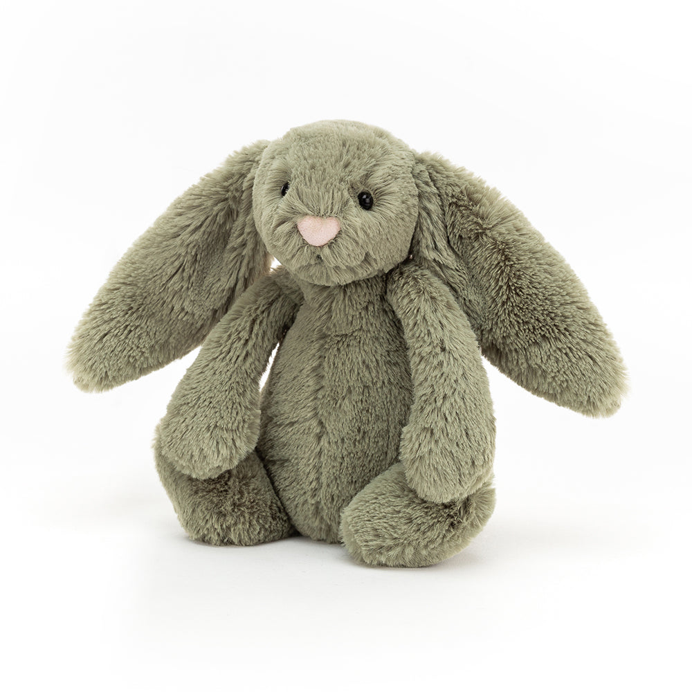 NEW - Jellycat Bashful Fern Bunny Small