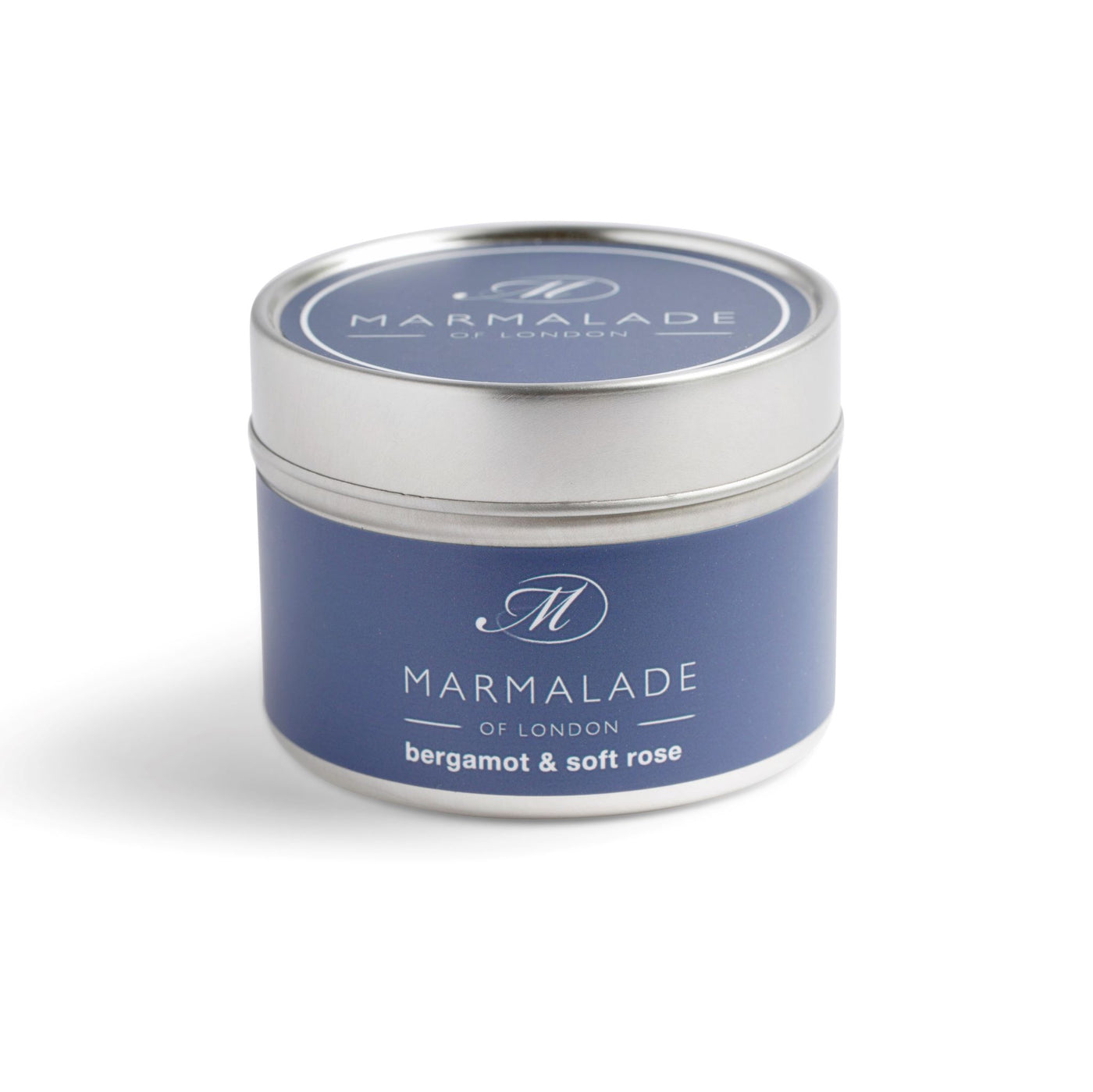 Marmalade Bergamot & Soft Rose Small tin candle