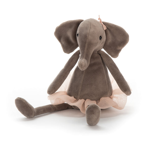 Jellycat Dancing Darcey Elephant - Small