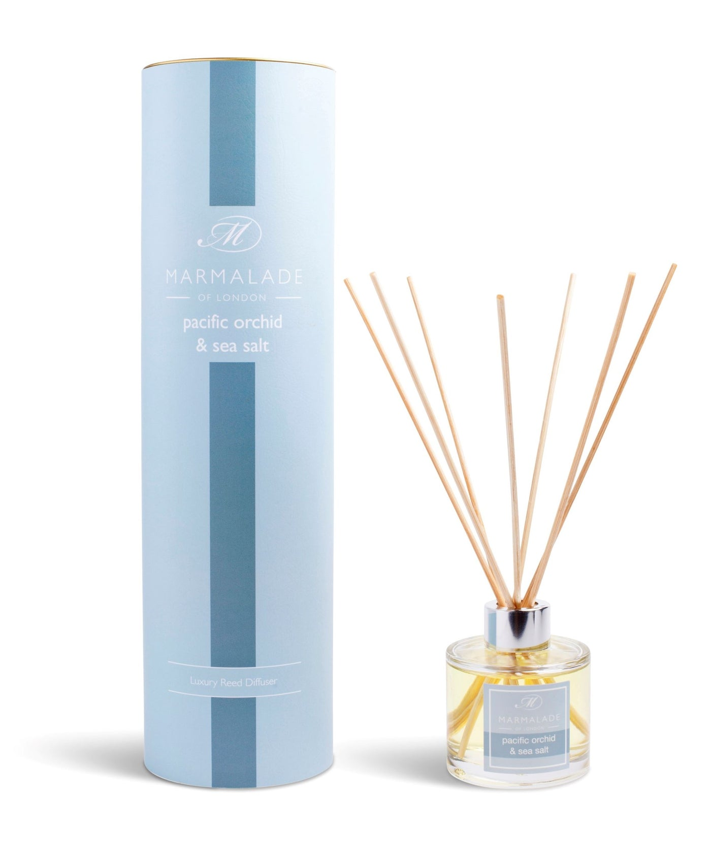 Pacific Orchid & Sea Salt Diffuser and pale blue presentation box