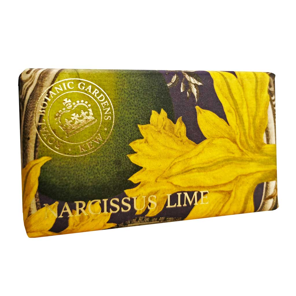 Narcissus Lime Luxury Soap