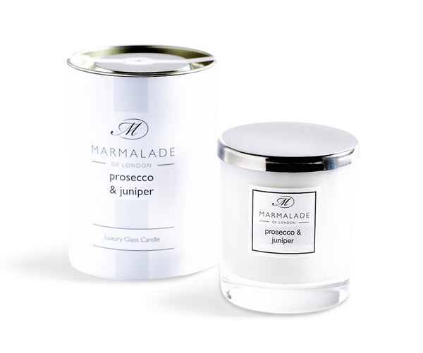 Marmalade Prosecco & Juniper Luxury Glass Candle