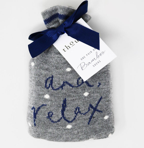 'And Relax' Socks
