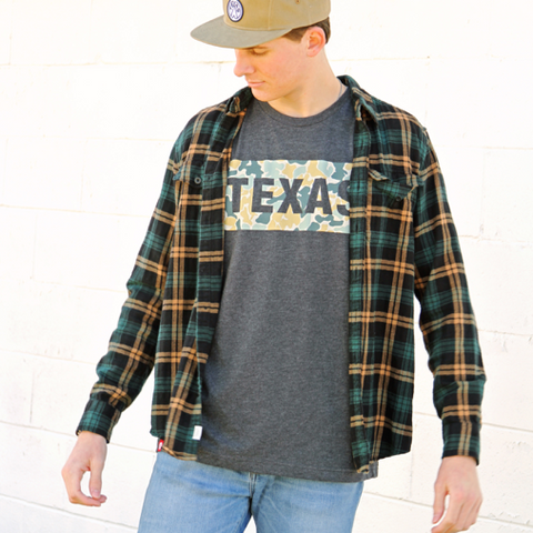 Layering Flannel Looks from Tumbleweed TexStyles
