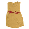 TEXAS CHICA - WOMEN'S MUSCLE TANK (Antique Gold) - Tumbleweed TexStyles