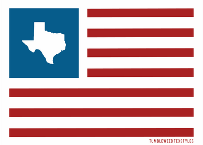 United States of Texas Sticker - Tumbleweed TexStyles