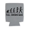 Full Grown Man Evolution TUPPS Brewery Koozie - Tumbleweed TexStyles