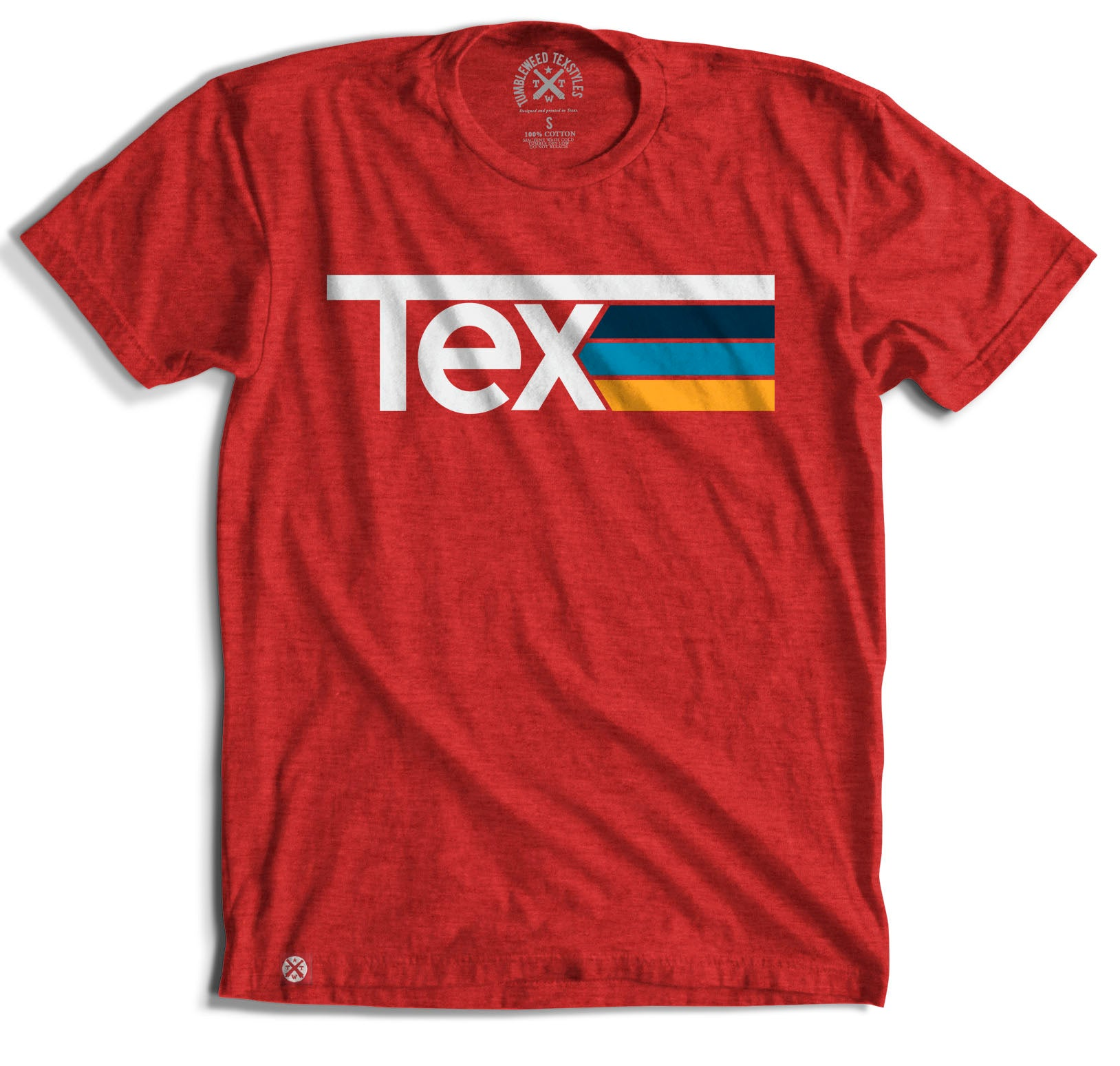 TEX Stripes T-Shirt - Tumbleweed TexStyles