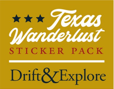Texas Wanderlust Sticker Pack