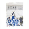 Texas L-I-V-I-N Sticker Pack