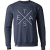 Big X Denim Sweatshirt - Tumbleweed TexStyles