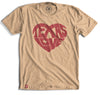 Texas Love Heart T-Shirt - Tumbleweed TexStyles
