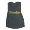 Texas Chica - Women's Muscle Tank (Antique Denim) - Tumbleweed TexStyles