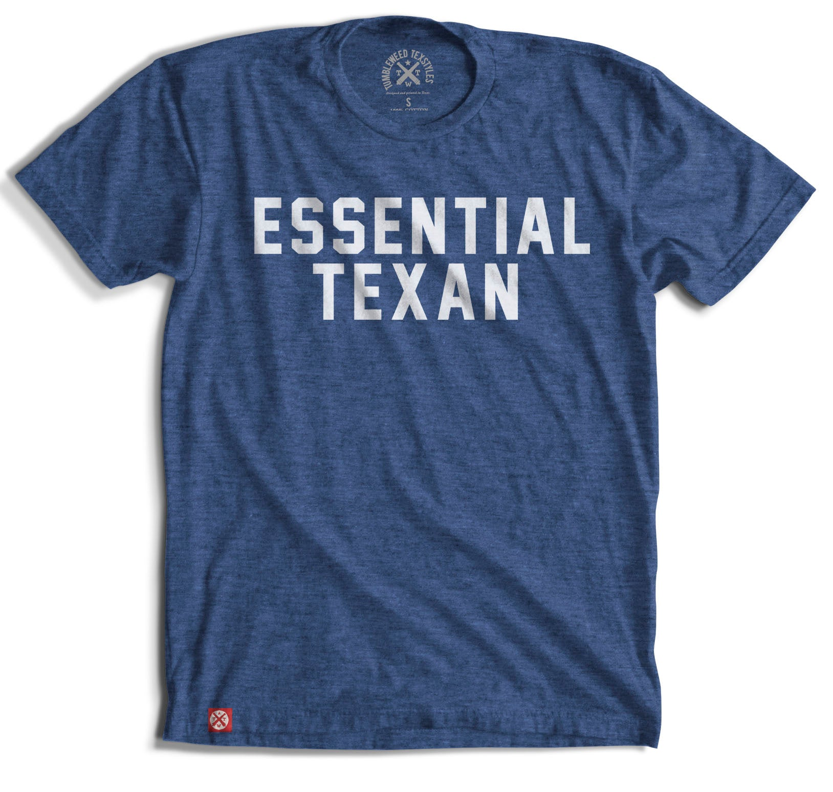 Essential Texan T-Shirt (Royal) - Tumbleweed TexStyles