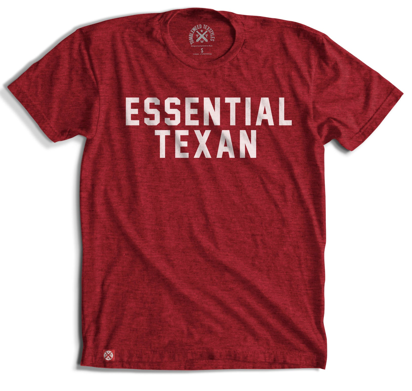 Essential Texan T-Shirt (Canvas Red) - Tumbleweed TexStyles